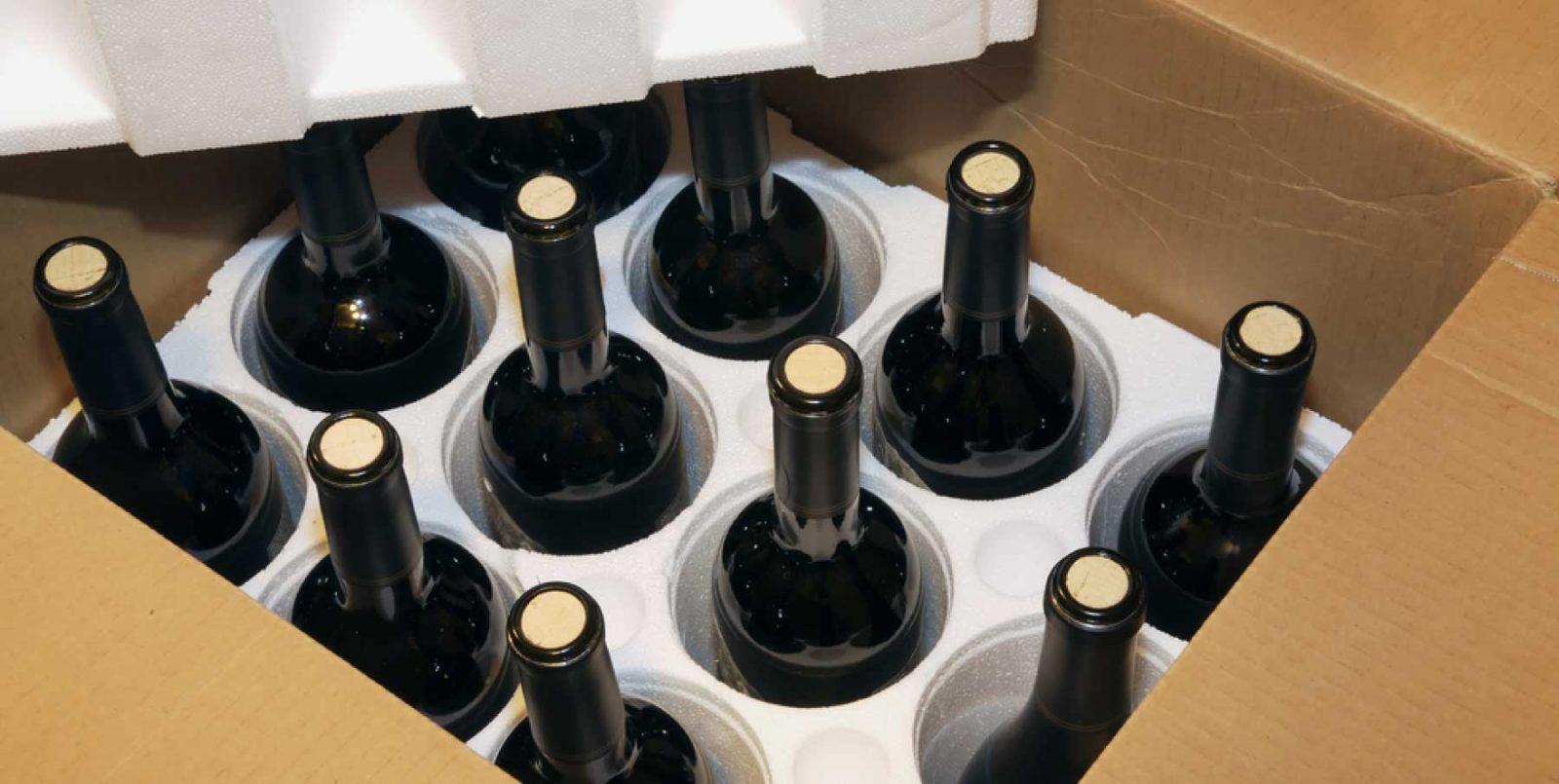 Spedire campionature di vino all'estero: regole di base